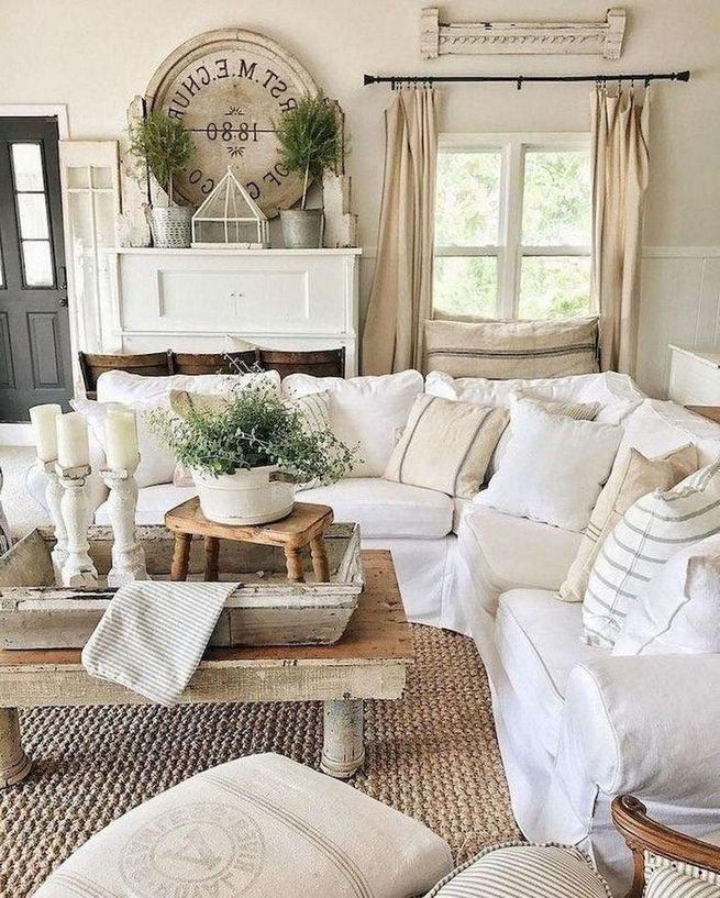 Photo of 16+ Cozy Farmhouse Style Living Room Decor Ideas – lmolnar