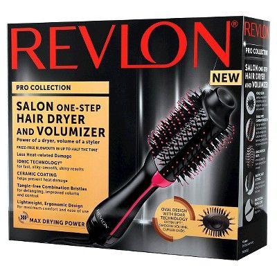 Revlon Salon One Step Hair Dryer And Volumizer Black Hair Dryer Revlon Hair Dryer Revlon