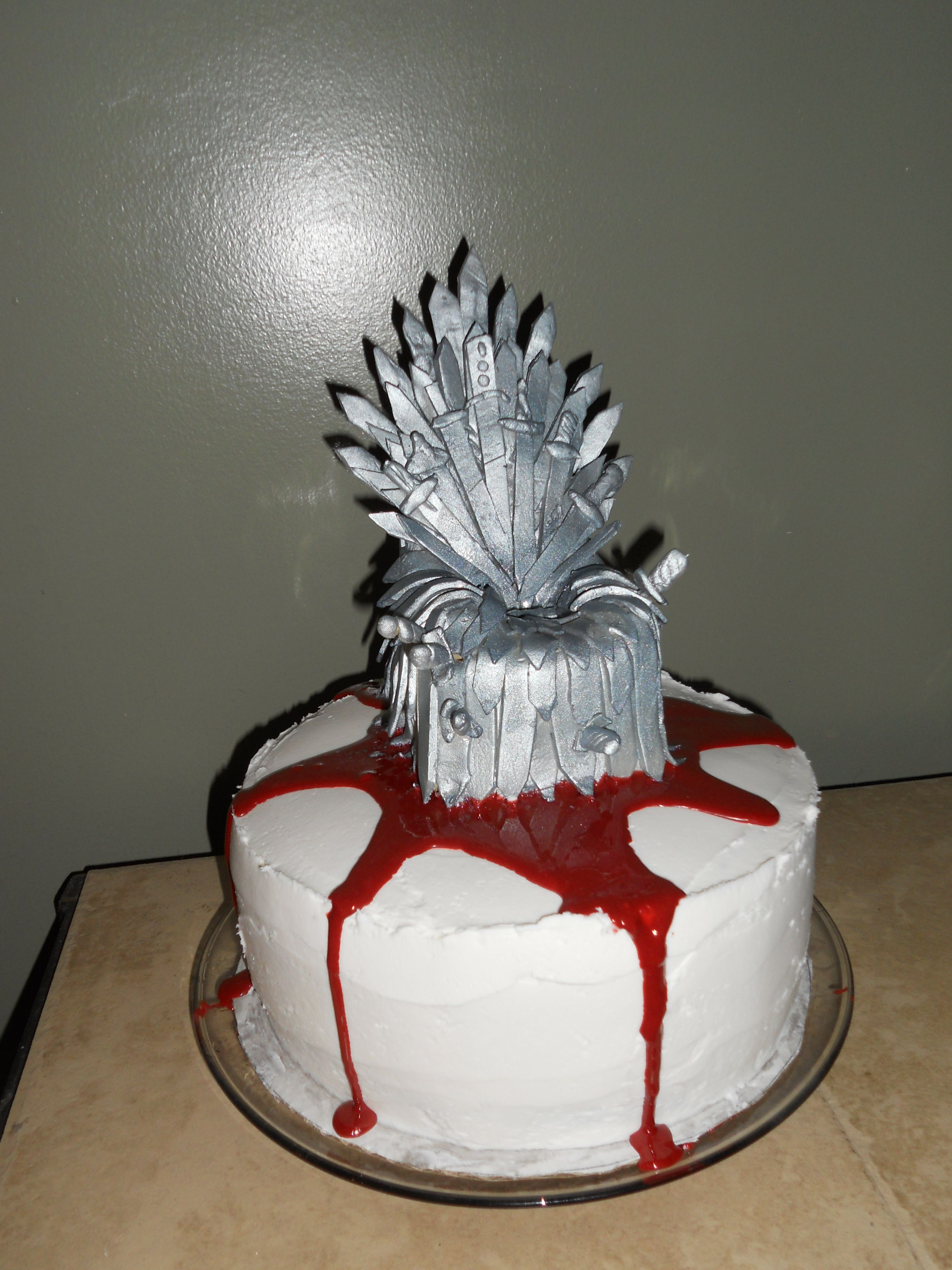Game Of Thrones Cake Backen