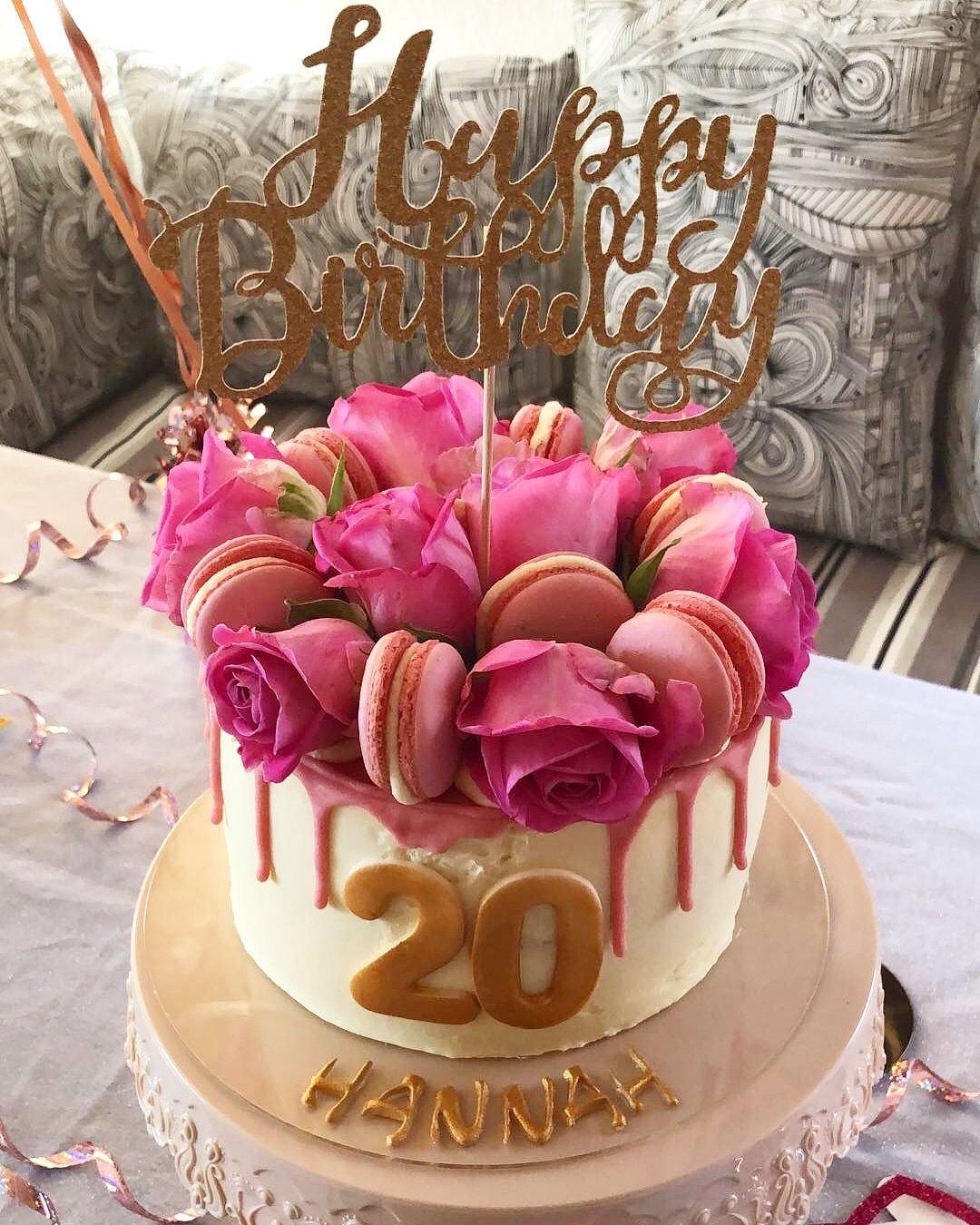 Pin By Sara Caiola On Numbers With Images 21st Birthday Cakes