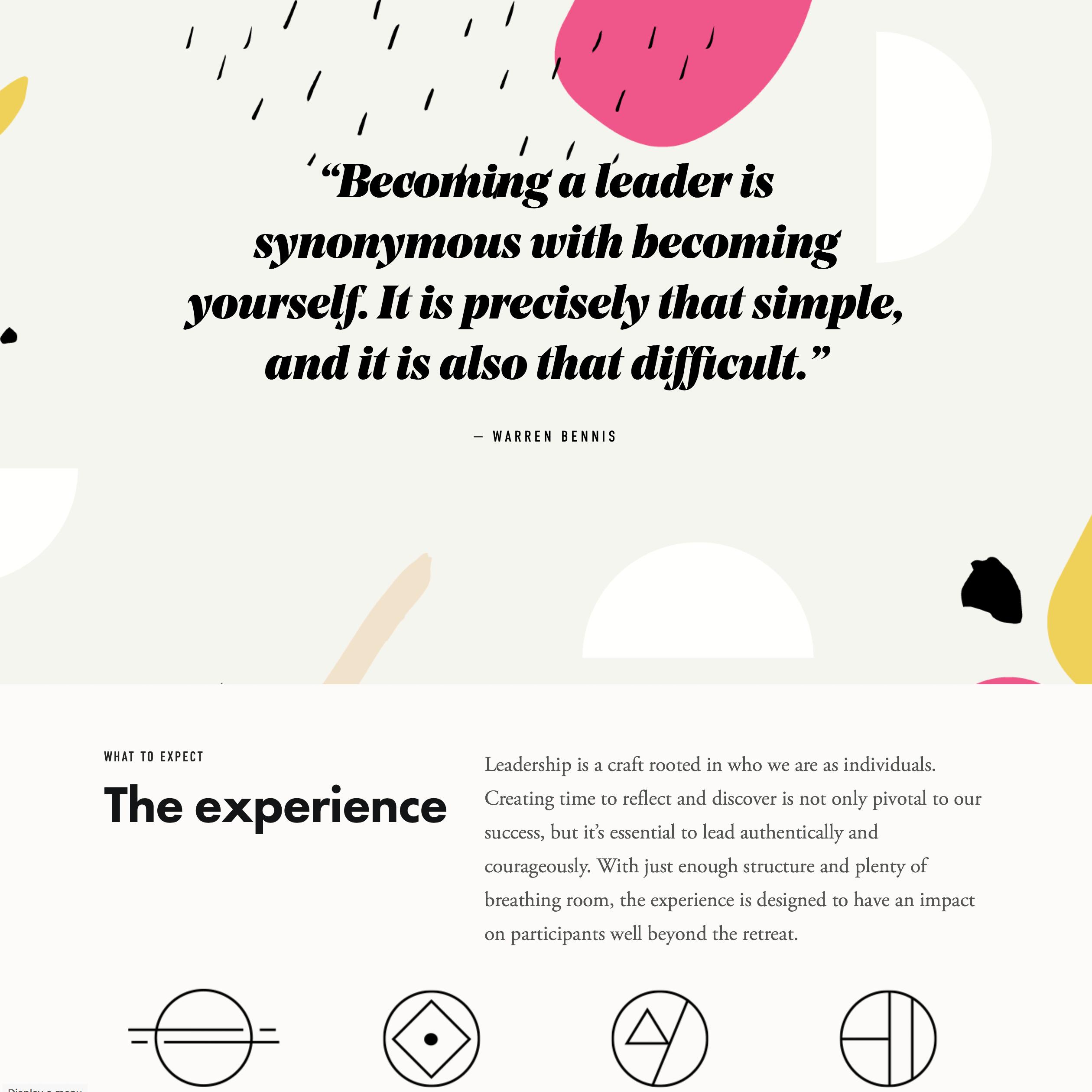 Fonts Used: Noe Display, Futura, Garamond, and DIN