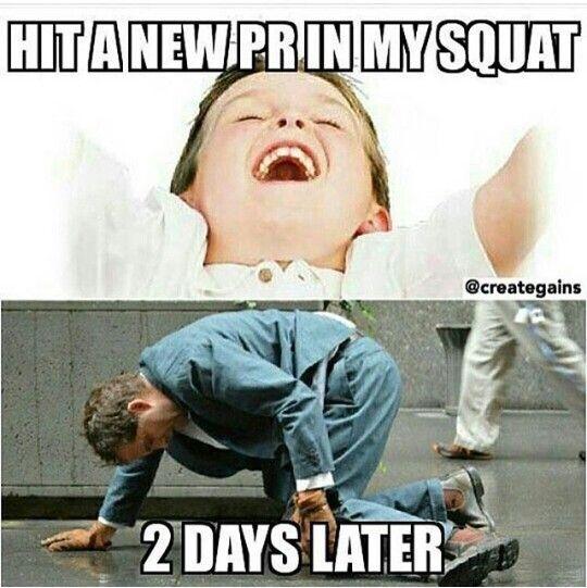 Squat pr realness
