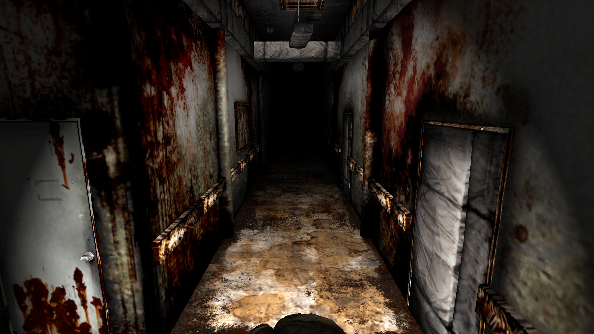 James exploring the Otherworld Brookhaven Hospital (Silent
