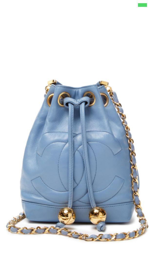 69e7ac0b3 Chanel Bucket Bag | Bags | Pinterest | Bolsinhas, Carteiras e Acessórios