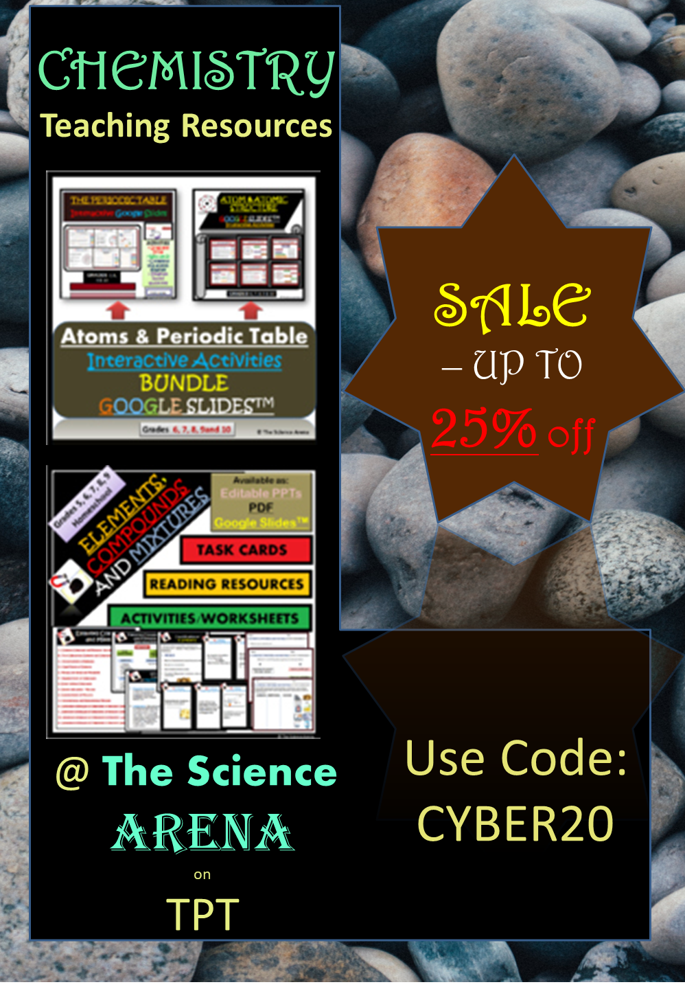 Chemistry Teaching Resources By The Science Arena On Sale Up To 25 Off Only For 2 Days Teaching Chemistry Science Activities For Kids Science Powerpoint [ 1440 x 998 Pixel ]