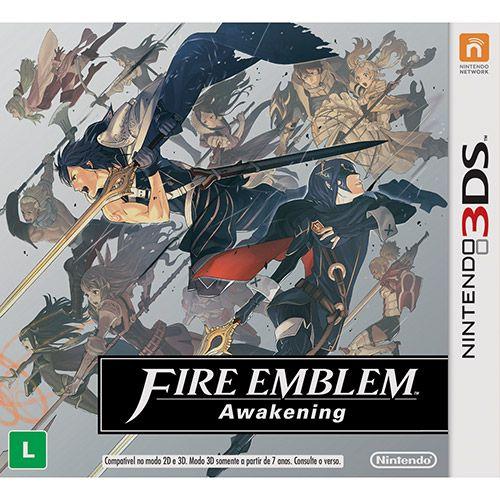 Game Fire Emblem: Awakening - 3DS lol eu acho estranho o fato que o jogo foi classificado Livre no Brasil