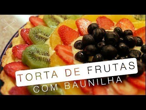 Torta de Baunilha com Frutas - Confissões de uma Doceira Amadora - YouTube