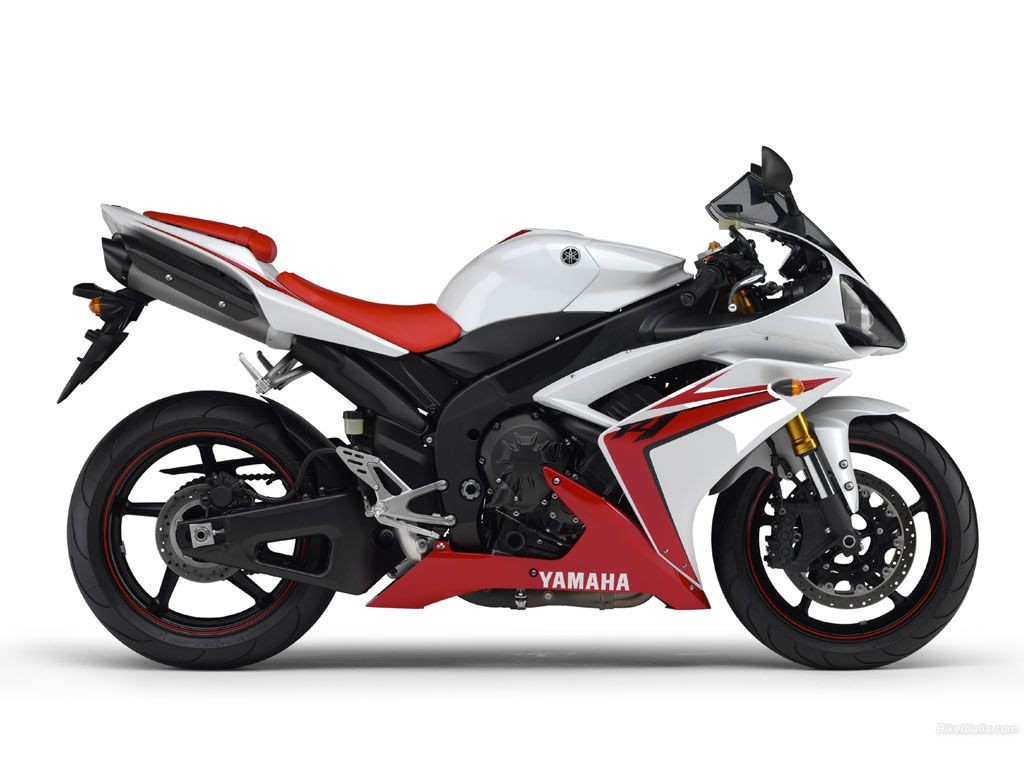 Yamaha YZF-R1 red & white