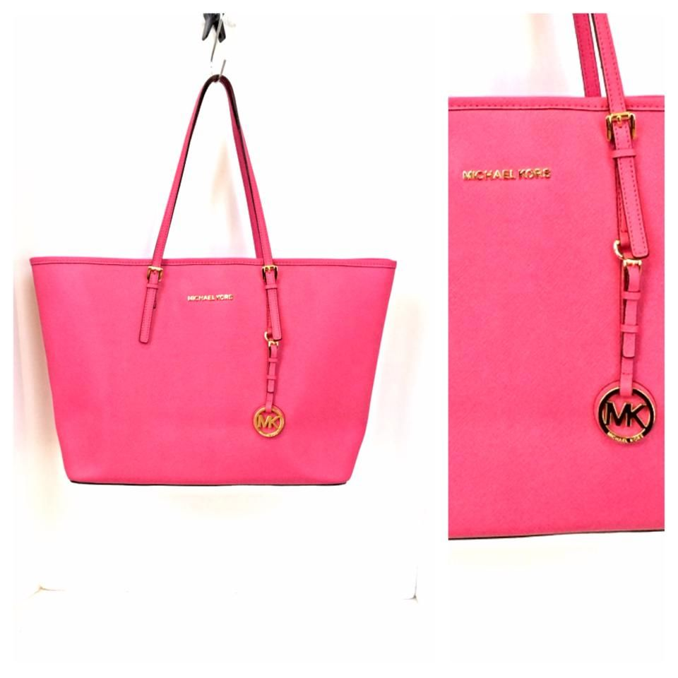 Michael Kors Hot Pink Purse To Carry Everything And The Kitchen Sink Bbpdconsignment