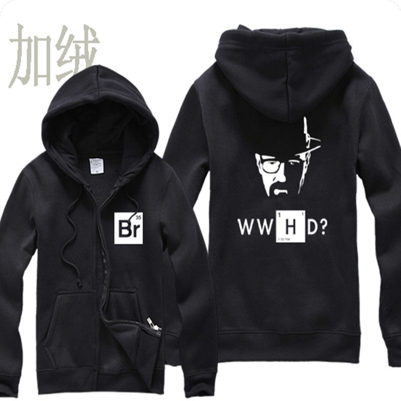 >> Click to Buy << Men's Zipper Spring Clothing Male Autumn Breaking Bad Winter Meth Hoody Print Large Size Fleece Sweatshirt hoodies Men Boy women #Affiliate