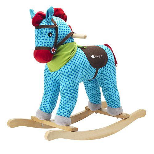 סוס נדנדה מעץ
