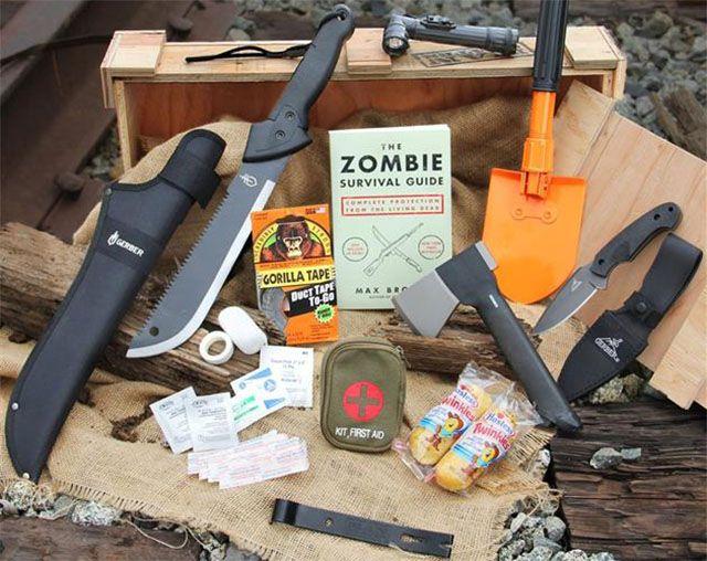 Zombie Survival Crate Man Crates Zombie Survival Kit Crates