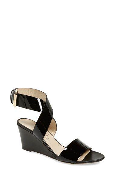 a341c8bb983 AGL Attilio Giusti Leombruni Ankle Wrap Wedge Sandal (Women ...