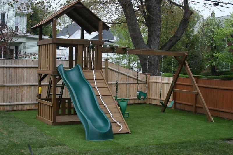Grass Like Turf Backyard Playground Turf Installation Playground Turf