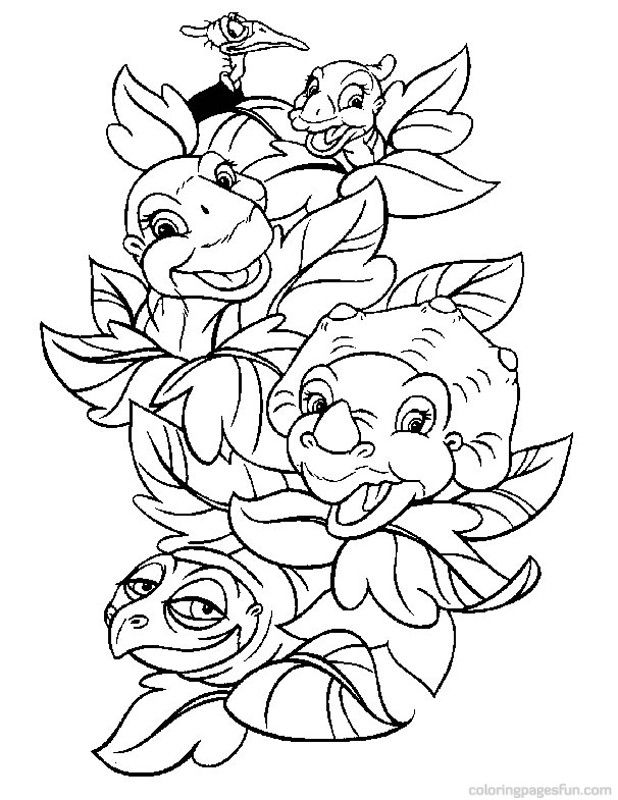 Baby Dino Coloring Pages 6 | Crafty Decor | Pinterest | Ausmalbilder ...