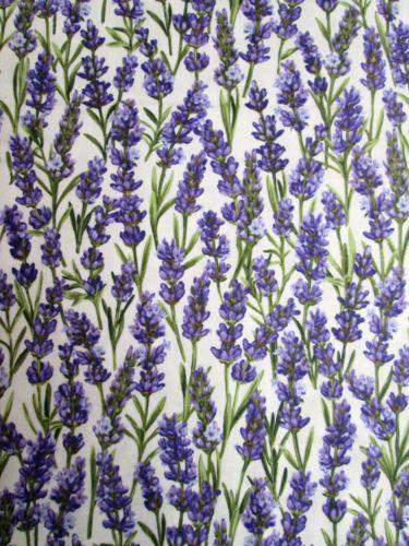 1 1 4y Lavender Market Floral Flower Egshell 2173 Cotton Quilt Northcott Fabric