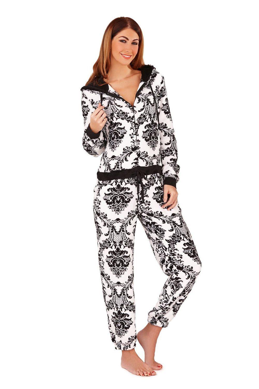 0c371a5a8b6a Pyjama polaire, robe de chambre et robe polaire pour femmes, Swirl  Peignoir, L (FR 44-46)  Amazon.fr  Vêtements et accessoires