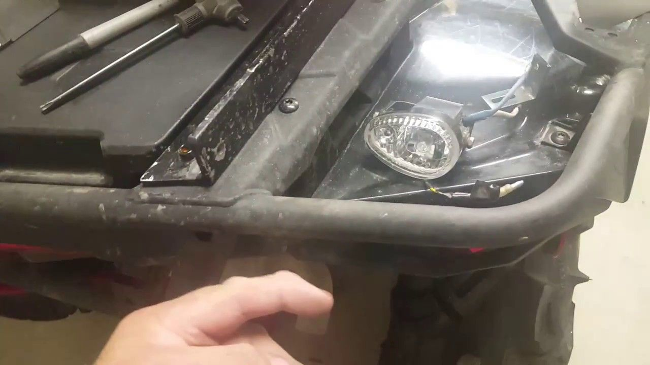 Rear light mount on atv | auto | Pinterest | Atv