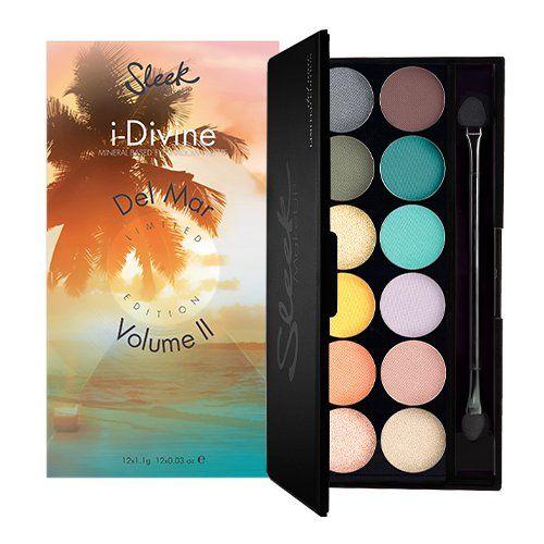 Sleek MakeUP I-divine Lidschatten Palette Del Mar Vol.II mit Spiegel 13.2 g, 1er Pack (1 x 13 g) - http://geschirrkaufen.online/sleek-makeup/del-mar-sleek-makeup-i-divine-lidschatten-palette
