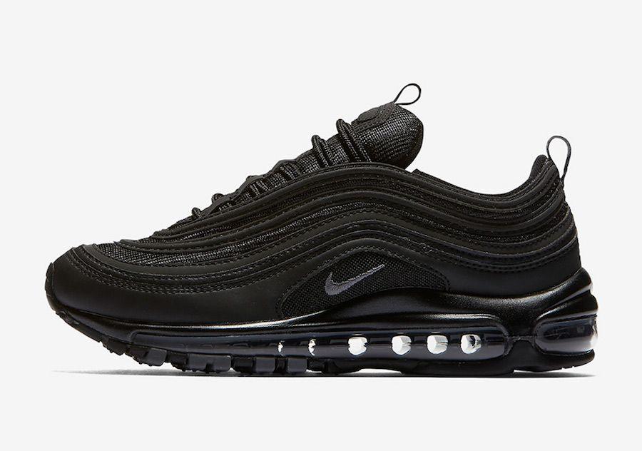 Nike Air Max 97 Triple Black 921733-001 em 2020 | Negras