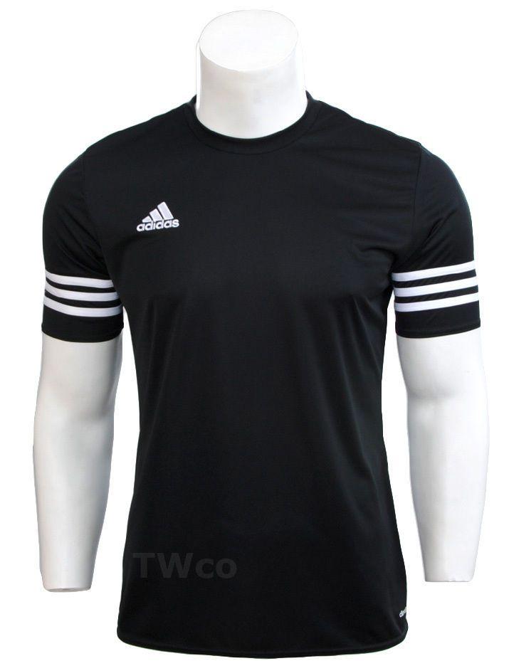 ba29f323e Mens Adidas Climalite Crew Training Gym Footbal T-Shirt Top Size S M L XL 2  XL | eBay