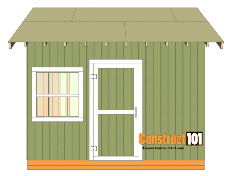 12x12 Shed Plans Gable Shed Construct101 Outdoor Storage Sheds Diy Shed Plans Storage Shed Plans