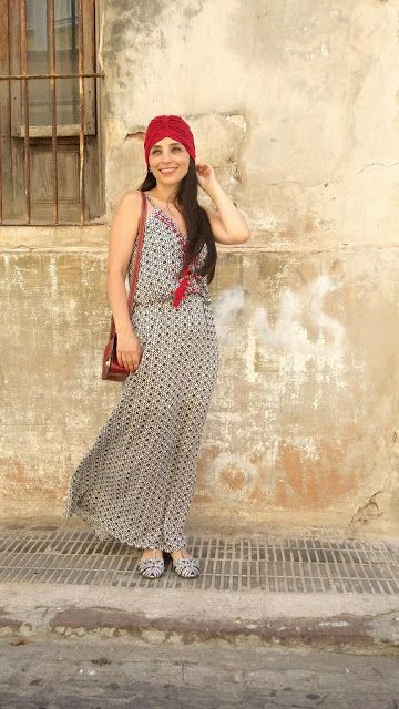 Stardivarius: Maxi boho dress