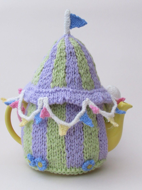 Summer Fayre tea cosy knitting pattern | Teteras, Hora del té y Las ...