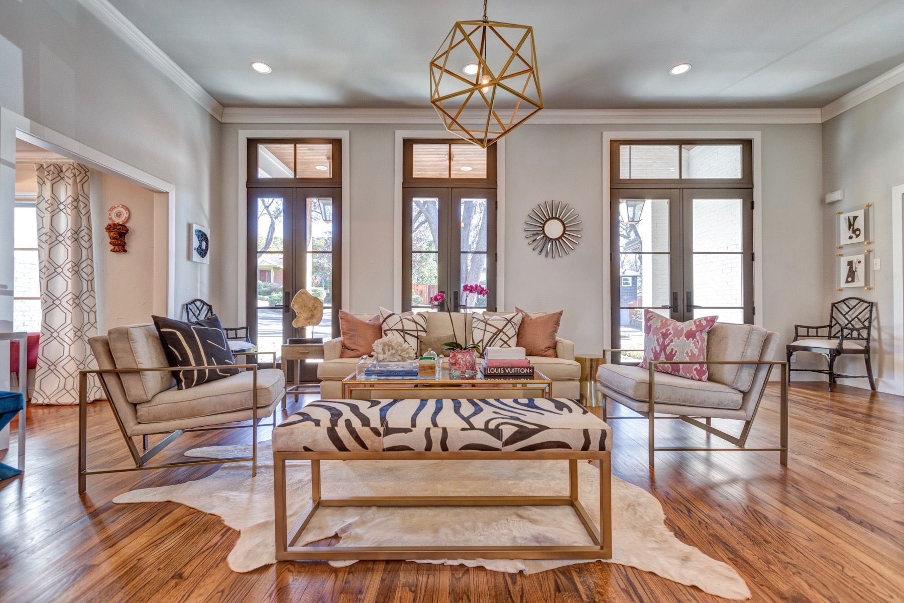formal living room front view  cozy couture interiors