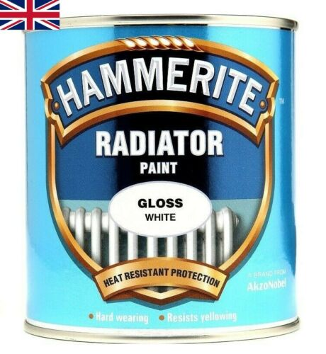 Details About Hammerite Quick Drying Radiator Paint Gloss White 500ml Free Postage In 2020 White Gloss Paint Enamel Paint Quick Dry