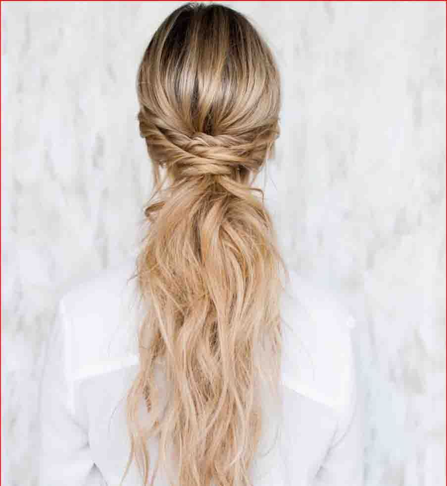 curly ponytail hairstyle   latest hairstyles   curly hair