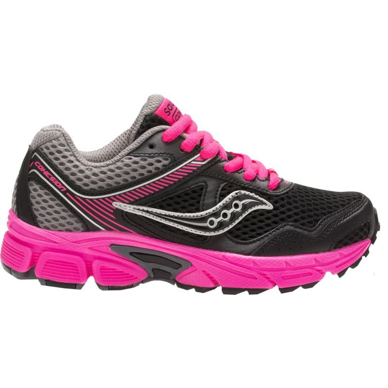 new products c5462 b12c2 Saucony Kids  Grade School Cohesion 10 Running Shoes, Boy s, Size  3.5,  Black