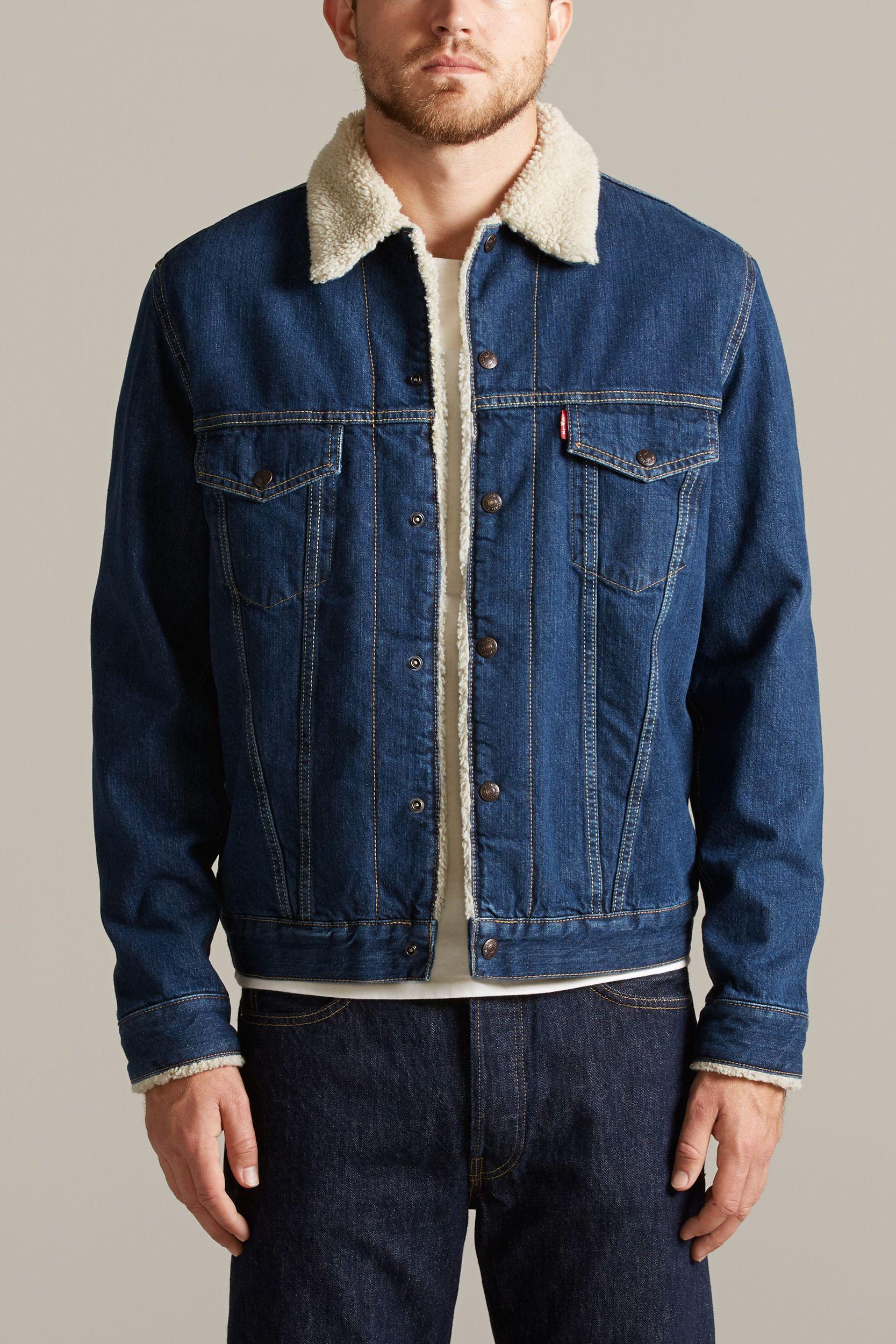 cdbe6c44578 1967 T-III SHERPA LINED TRUCKER | Levi's Vintage Clothing | Fleece ...