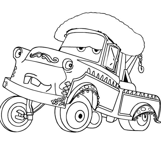 cars toons coloring pages - photo#38