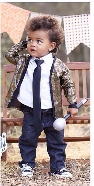 Cute Little Bruno Mars Costume. | Spooktacular Halloween | Pinterest | Bruno Mars Costumes And Mars