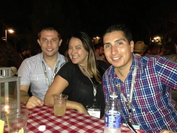 Great evening festivities at #onecon2014 with @TracyOClair @arthurfgarcia @CTCTPartner