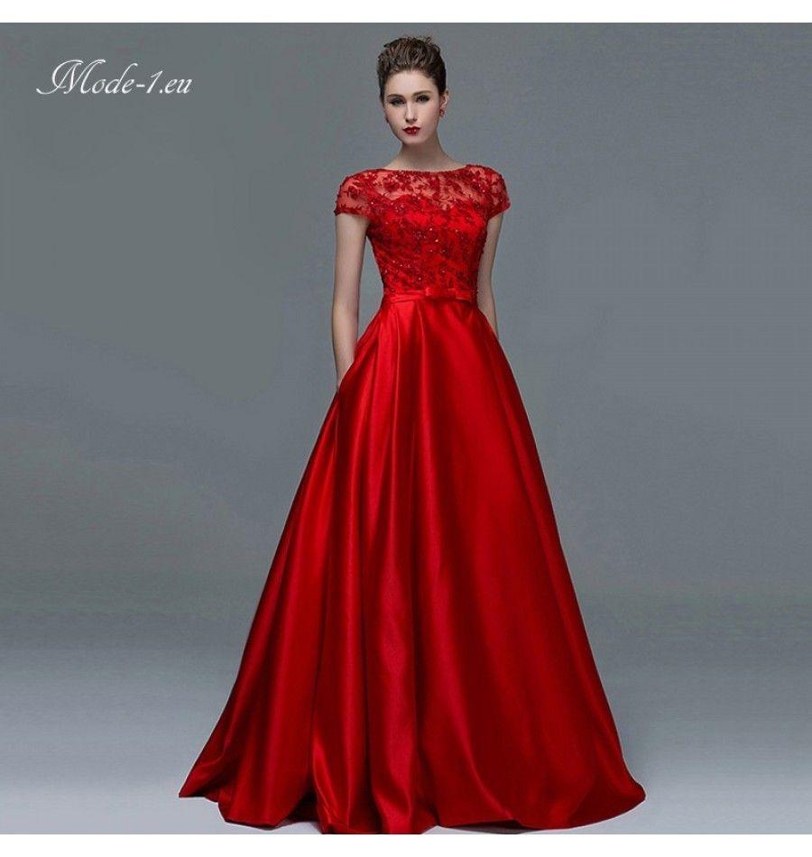 Abendkleider Seide – Valentins Day  Abendkleid, Formale