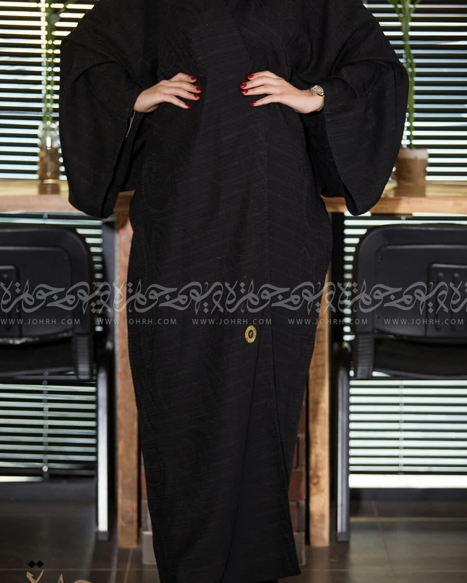 عباية بقماش مشجر وكم اماراتي رقم الموديل 1555 السعر بعد الخصم 240 ريال متجر جوهرة عباية عبايات ستايل عباية Fashion Maxi Dress Dresses