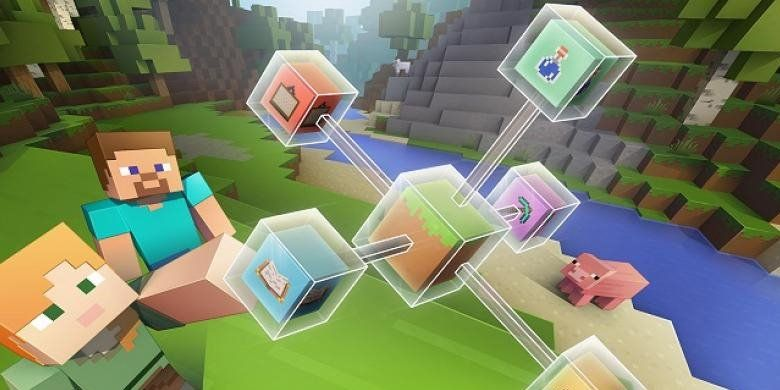 A collection of five short courses on using minecraft in