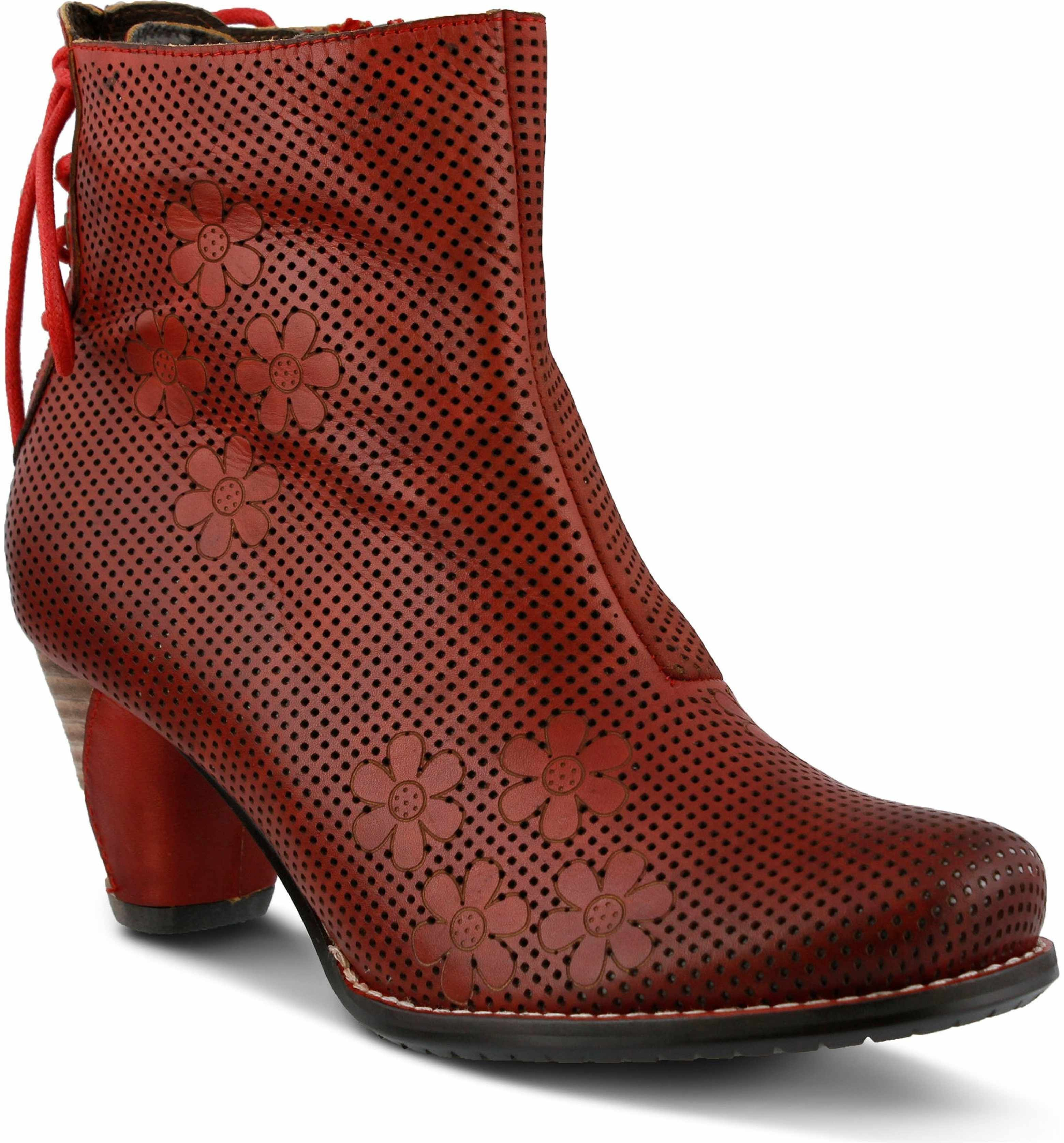 Lartiste teca bootie women lace up ankle boots