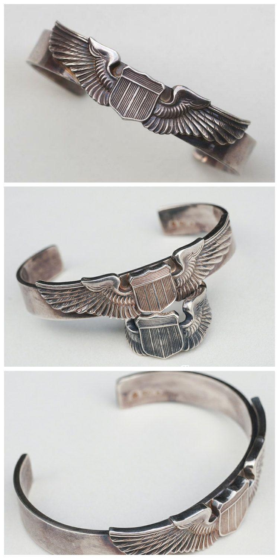 a37da0f7653 Silver Wings Bangle