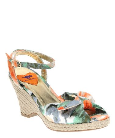 Take a look at this Peach Karisma Shoe by Rocket Dog on #zulily today!$24.99, regular 60.00