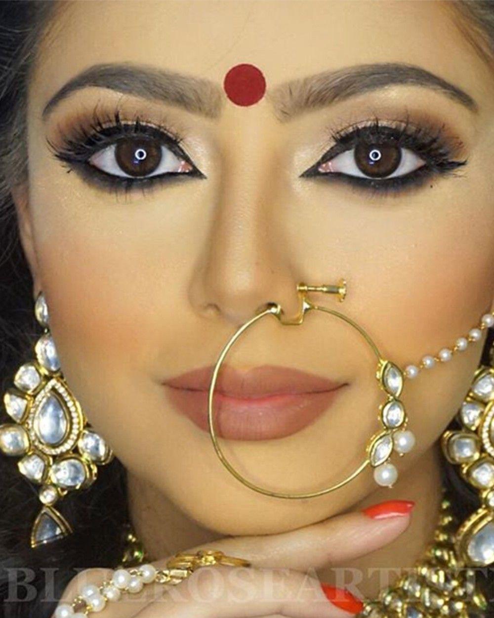 Ameena Nose Ring - Nose Rings - Jewelery | awards ball | Pinterest ...