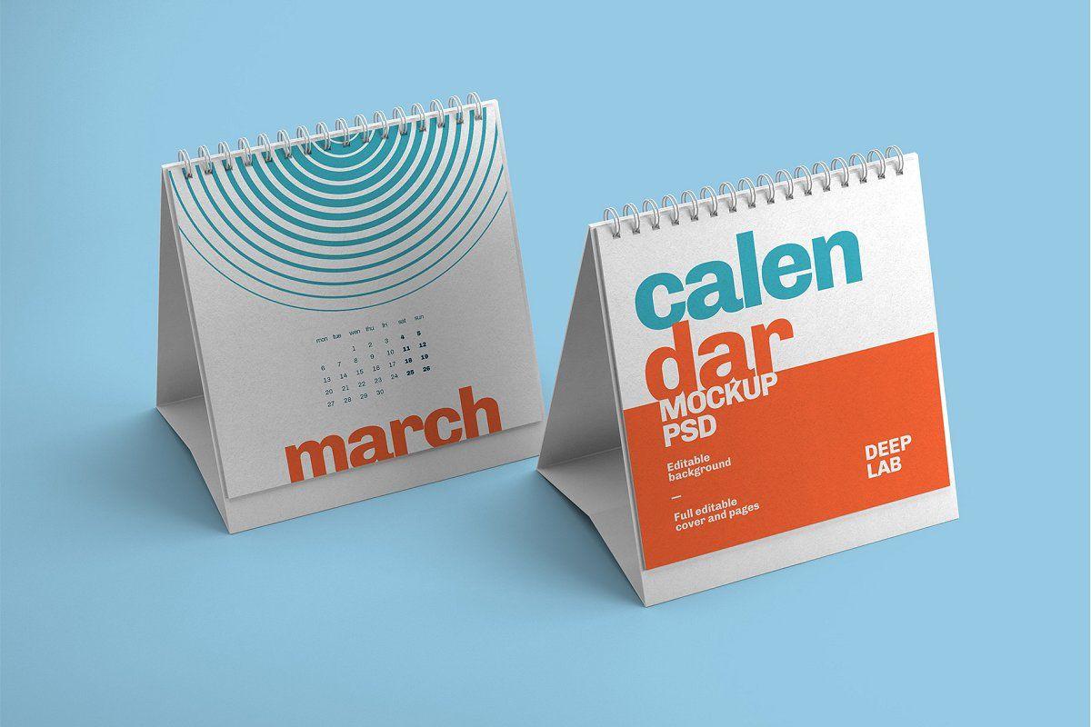 Download Desk Calendar Mockup Set 23 Styles In 2020 Desk Calendar Mockup Stationery Mockup Desk Calendars PSD Mockup Templates