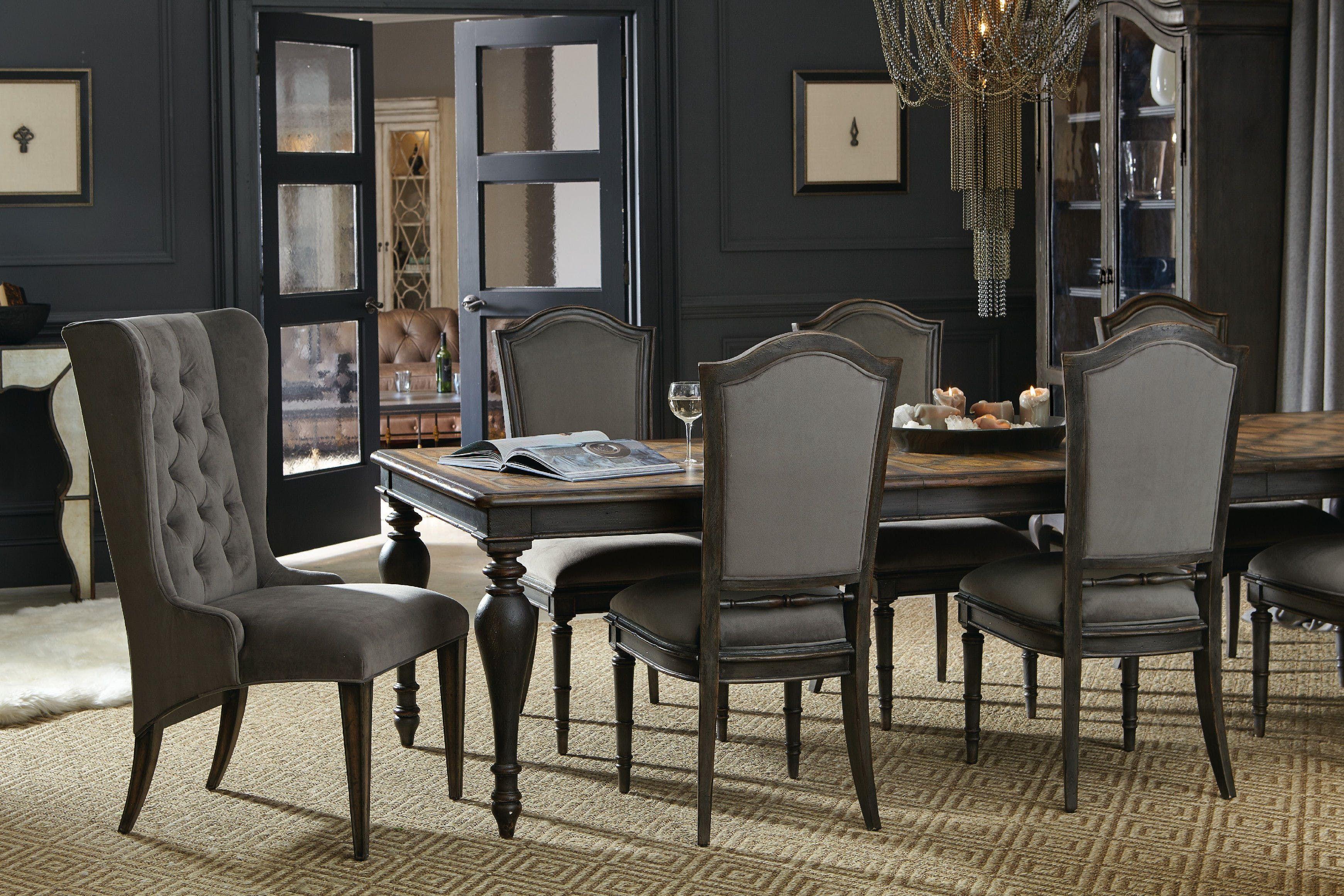 Furniture Arabella Rectangle Leg Table W 2 20 In Leaves 1610 75207 Multi