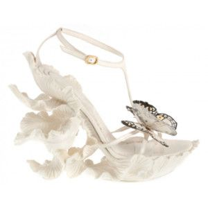 Gotta Love These Haute Couture Butterfly Wedding Shoes By Alexander Mcqueen He Is One Of