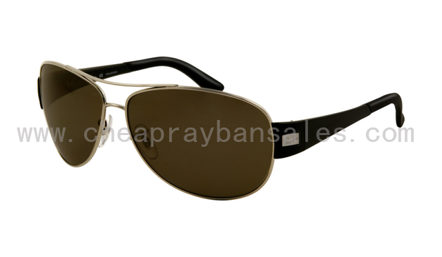 Ray Ban RB3467 Sunglasses Gunmetal Frame Polarized Deep Green Lens ... 34c7fa3b6b