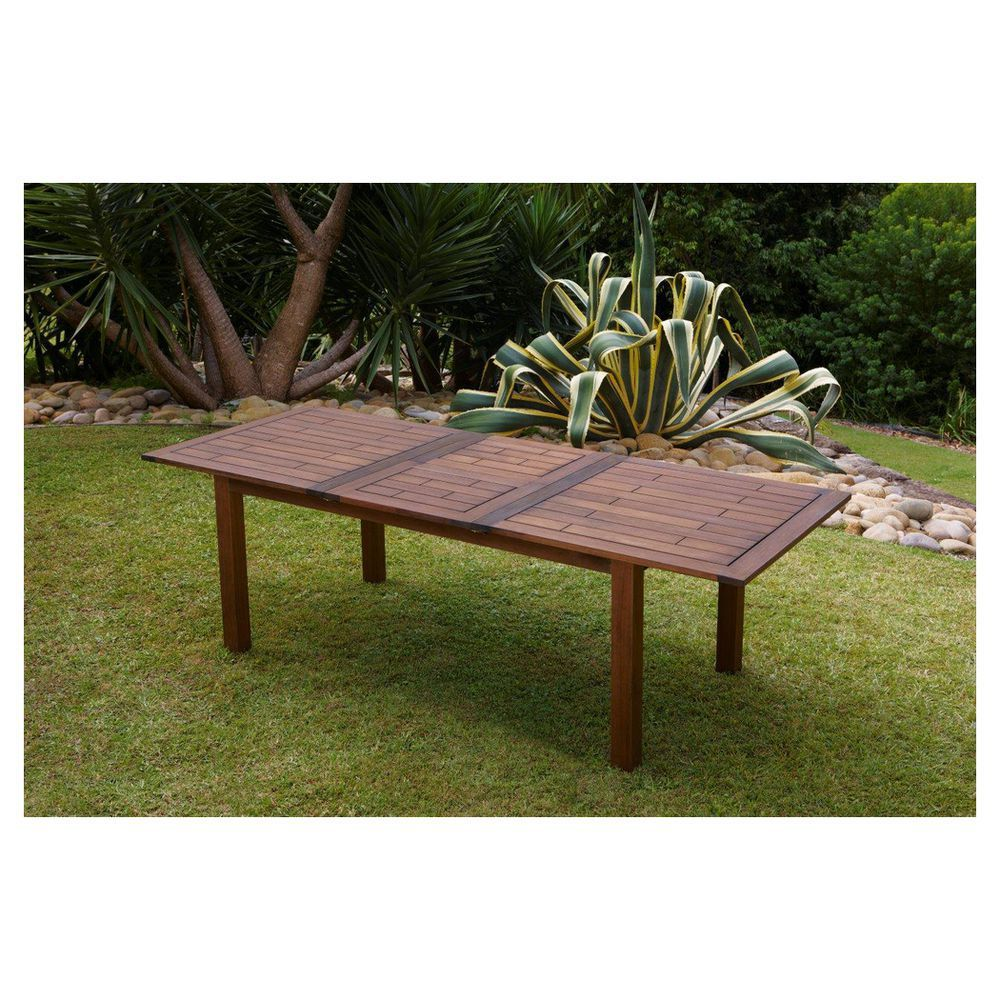 Patio by jamie durie paperbark extension table 180 240cm