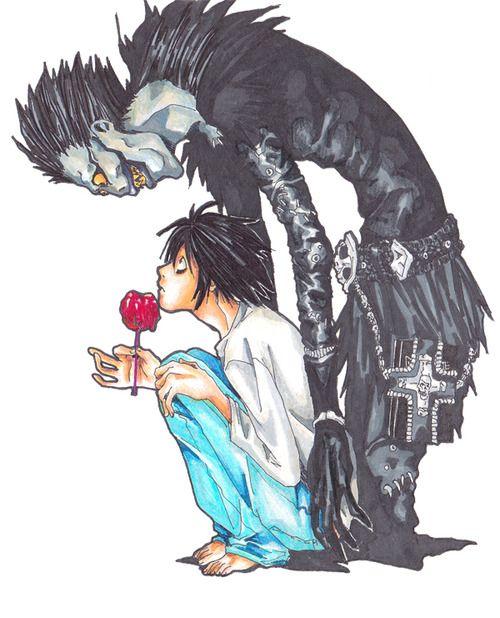 Death note fan art tumblr buscar con google animes for Fan art tumblr