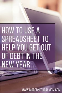 I realize that a paycheck to paycheck lifestyle can only get your so far, and things have to change. The only way things can change is to have a plan and to be organized. Learn how to use a spreadsheet to help you get out of debt in the new year!